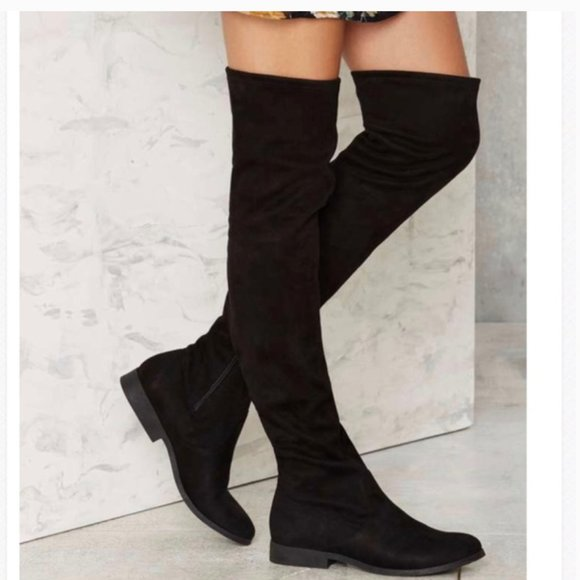 """Call it spring """"Legivia"""" over the knee boot~9.5"""
